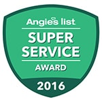 Angies List Super Service Award 2016 logo