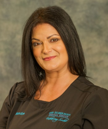 Sondra who is the Treatment Coordinator at Silberman Dental Group