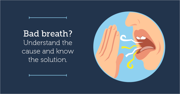 Try one of these at-home bad breath remedies.