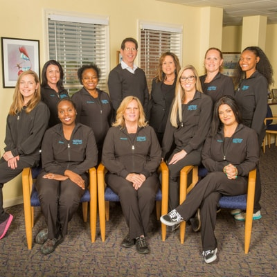 The Silberman Dental group dental team in Waldorf