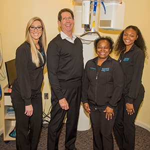 The team of The Silberman Dental Group who are ready to listen to your dental bridge needs